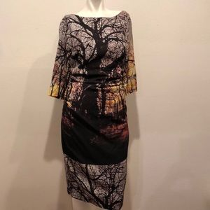 Tracy Reese Printed Dress size 8